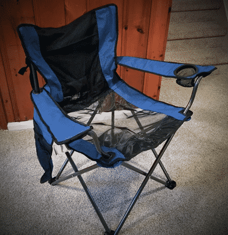 Most Functional Chair - Traveling Breeze Fan-Cooled Camping Chair