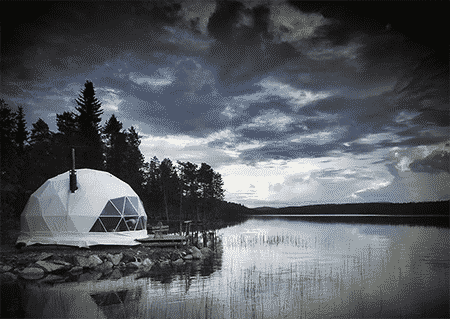 Geodesic Dome Tent Glamping Pod
