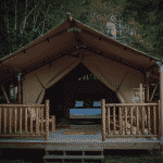 Glamping at the Terrador Outdoor Resort in Bar Harbor Maine