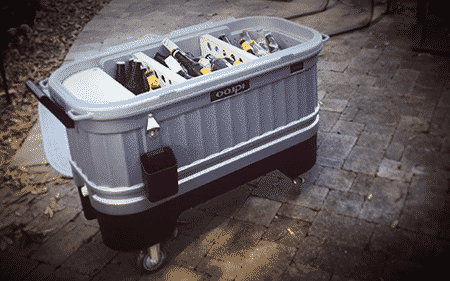 Glamping Gear Igloo Party Bar Cooler