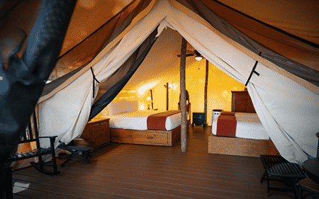 Westgate Glamping Tents