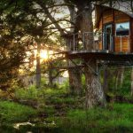 Glamping in Texas at Cypress Valley Treehouse