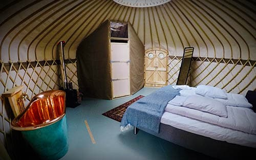 Glamping with Comfort