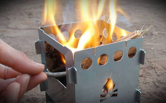 Ultra Portable Wood Burning Camping Stove